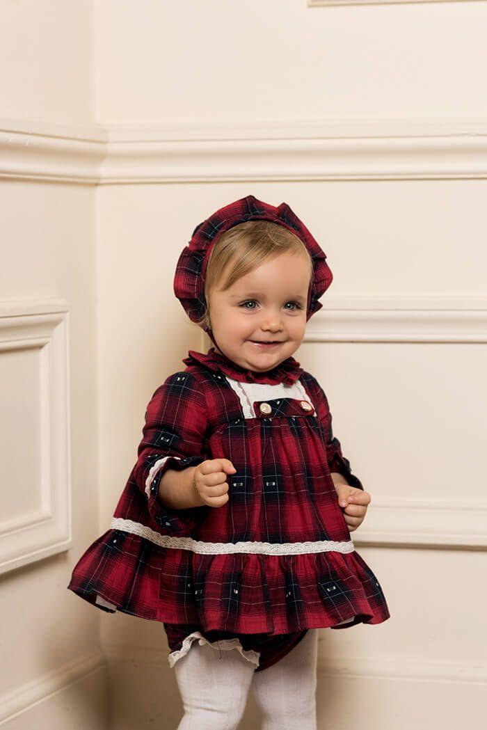 758083722 Conjunto Bebé Niña Vestido