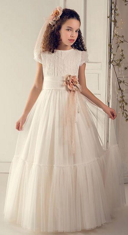 vestidos comunion niña